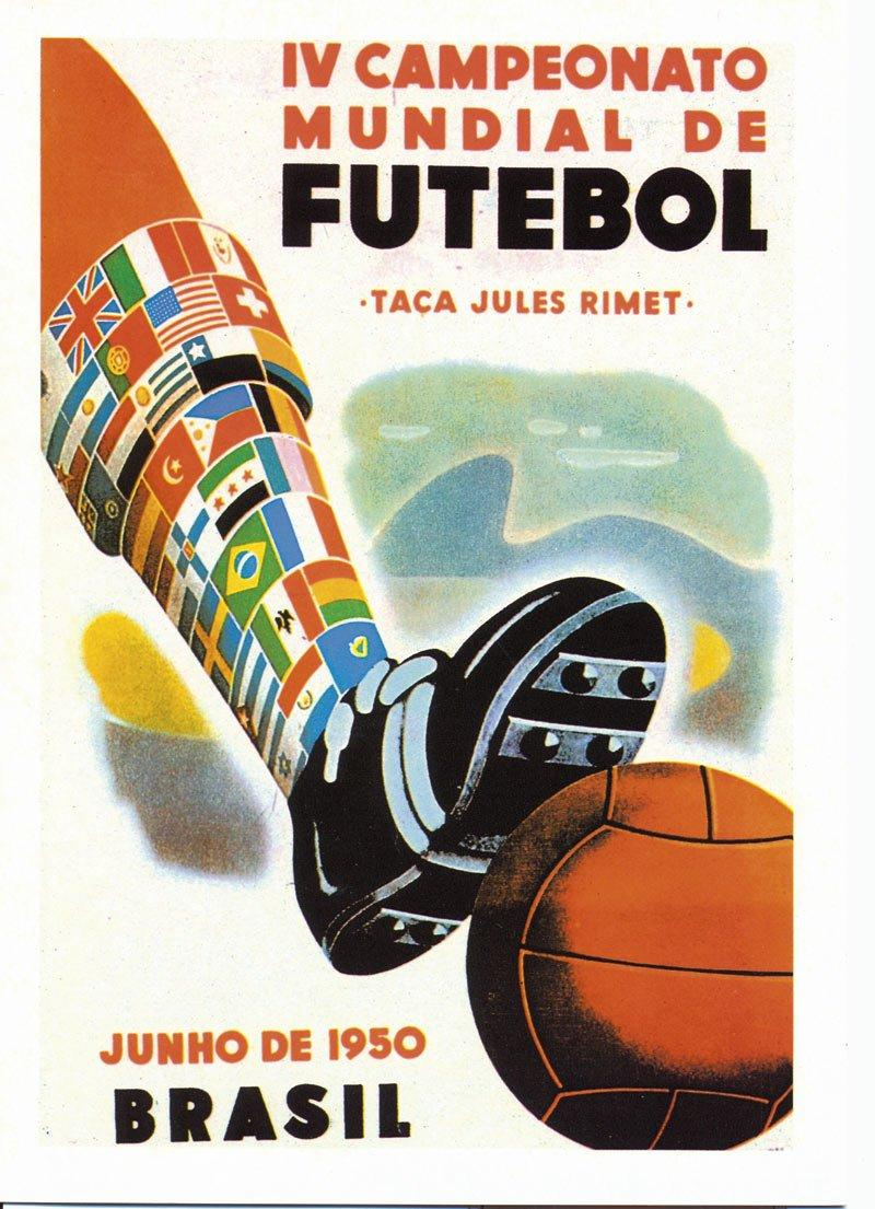 1950 World Cup poster
