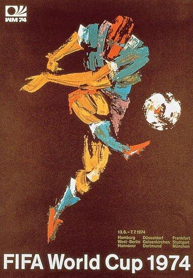 1974 World Cup poster