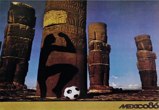 1986 World Cup poster