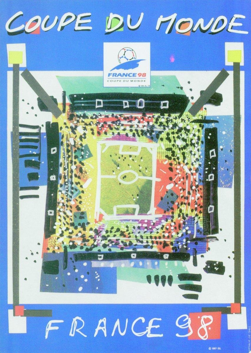 1998 World Cup poster