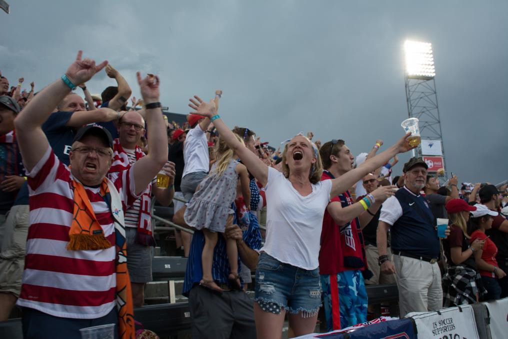 USMNT Fans After Pulisic Goal