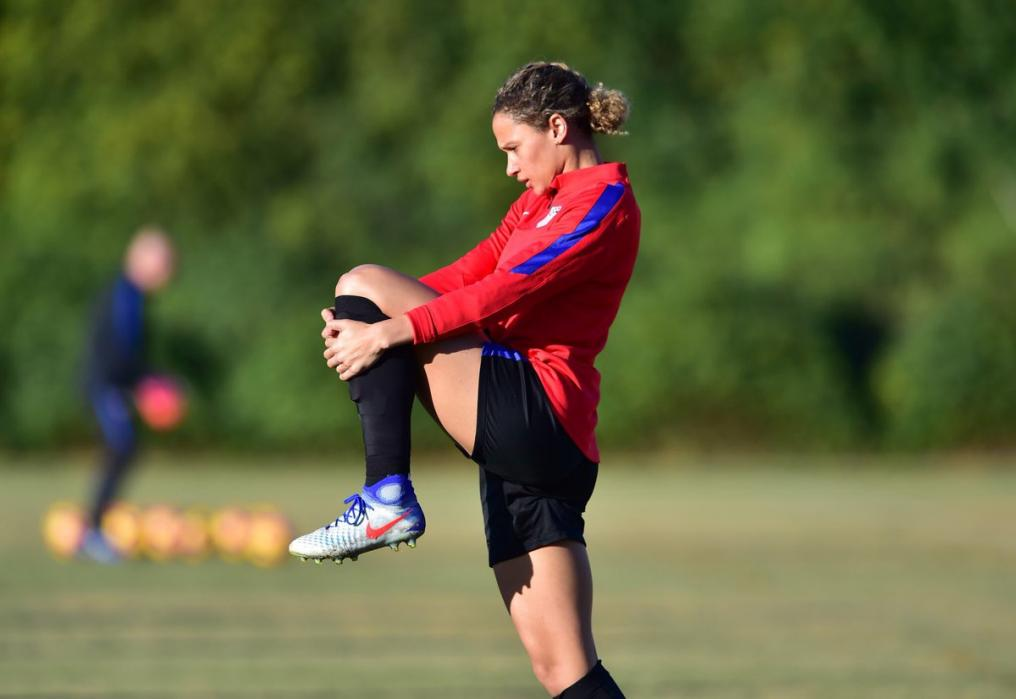 Kealia Ohai trains with USWNT for upcoming season