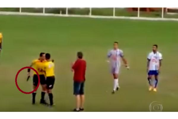 soccer referee jumping to conclusions