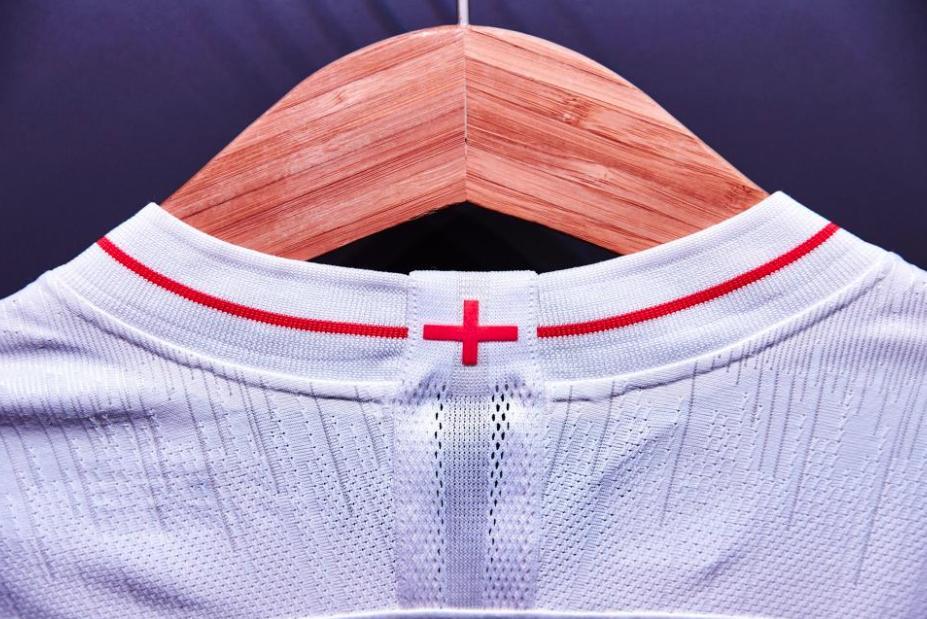 2018 England World Cup Kit - Home (Back)