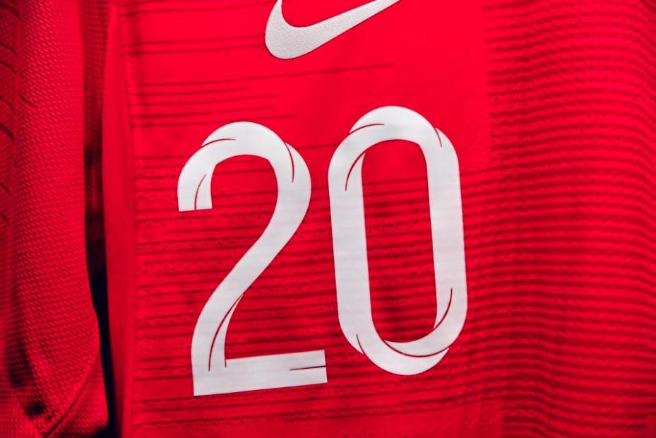 2018 England World Cup Away Kit - Up Close