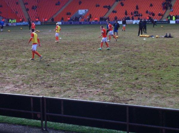 Worst Football Pitches, Bloomfield Road