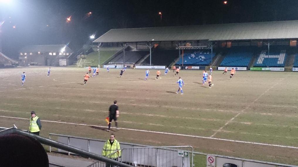 Worst Football Pitches, Shay Stadium