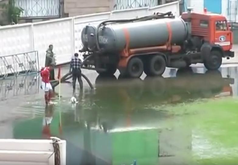 Worst Football Pitches, Kazakhstani Waterpark