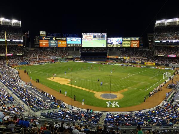 Worst Football Pitches, Yankee Stadium