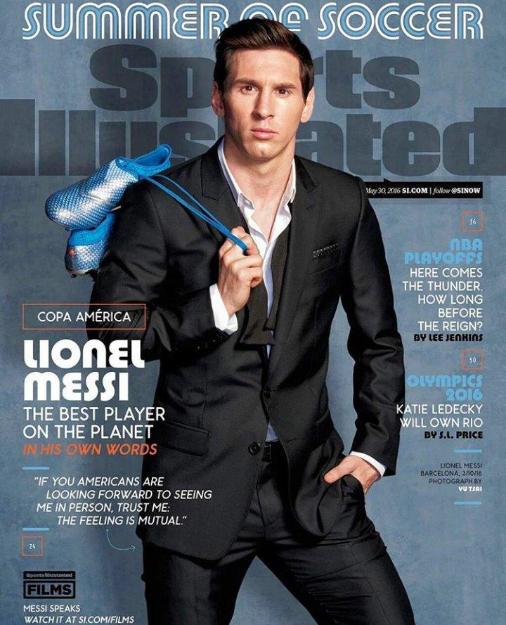 Messi Sports Illustrated