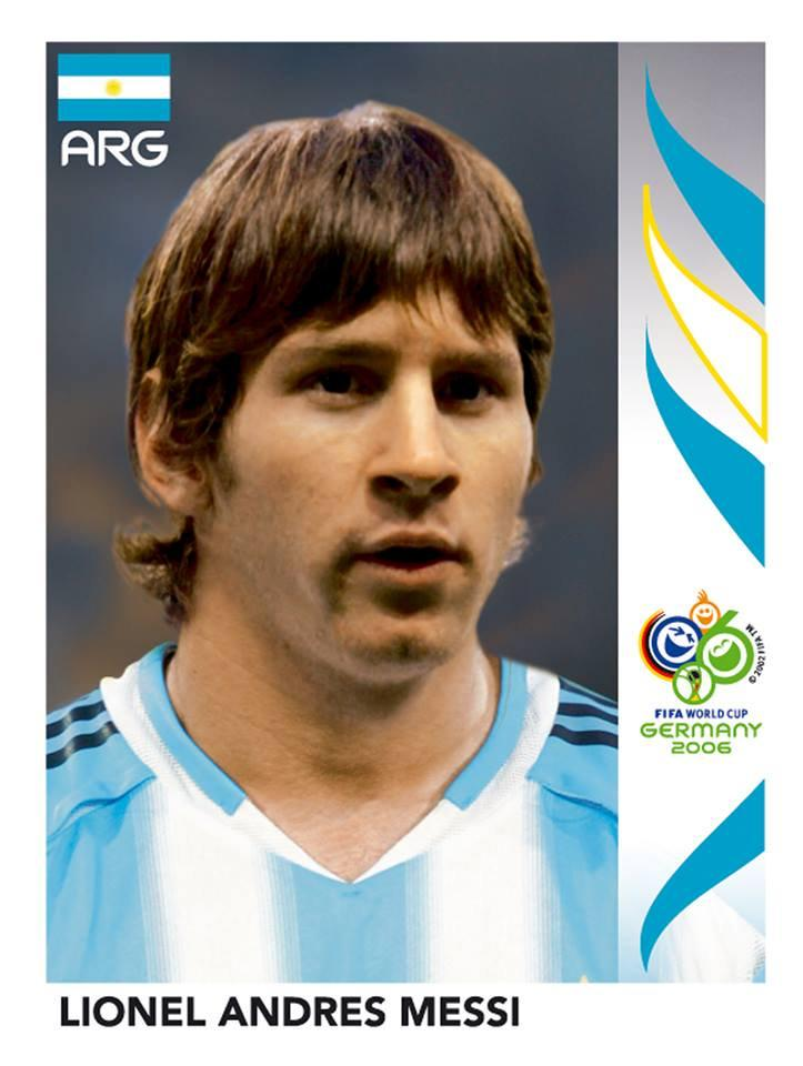 Messi 2006 World Cup