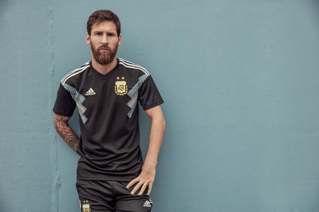 Messi Argentina jersey