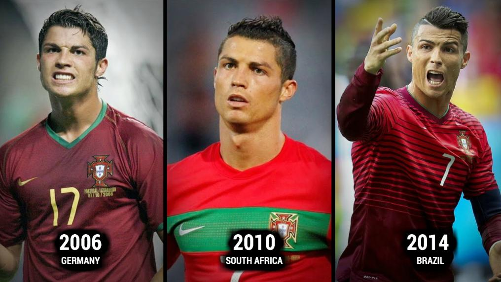 Cristiano Ronaldo World Cup Evolution