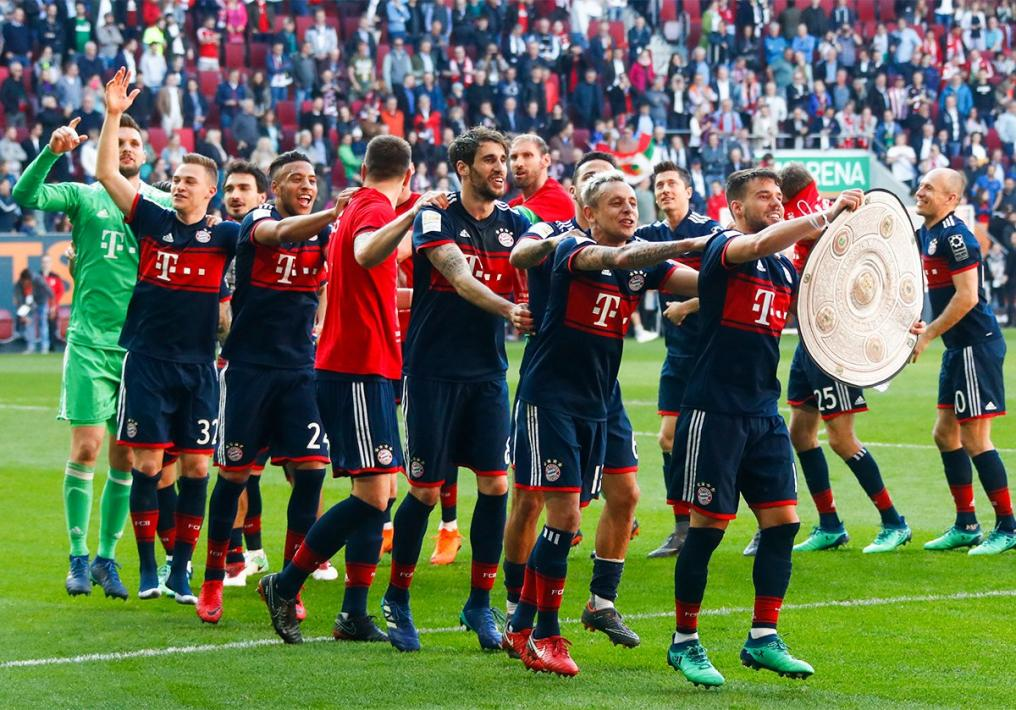 Bayern Munich Title Celebrations