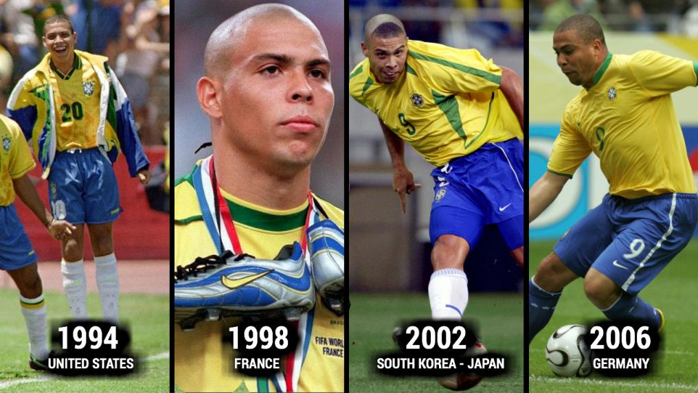 Ronaldo World Cup Evolution