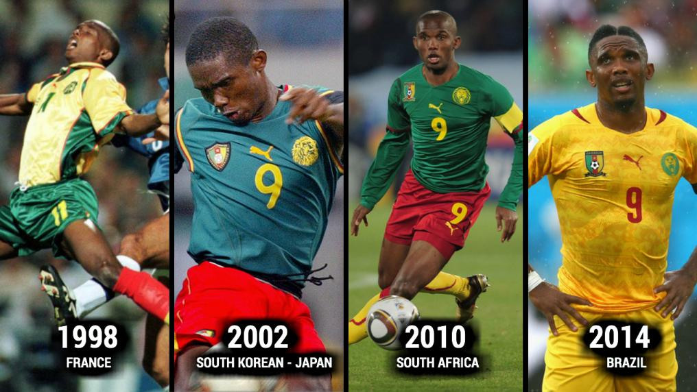 Samuel Eto'o World Cup Evolution