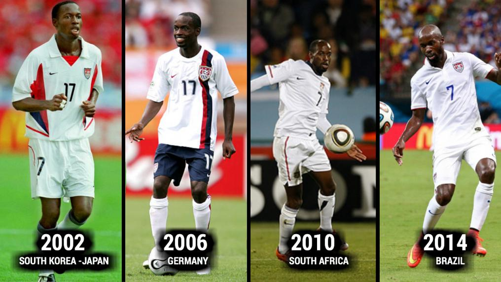 Demarcus Beasley World Cup Evolution