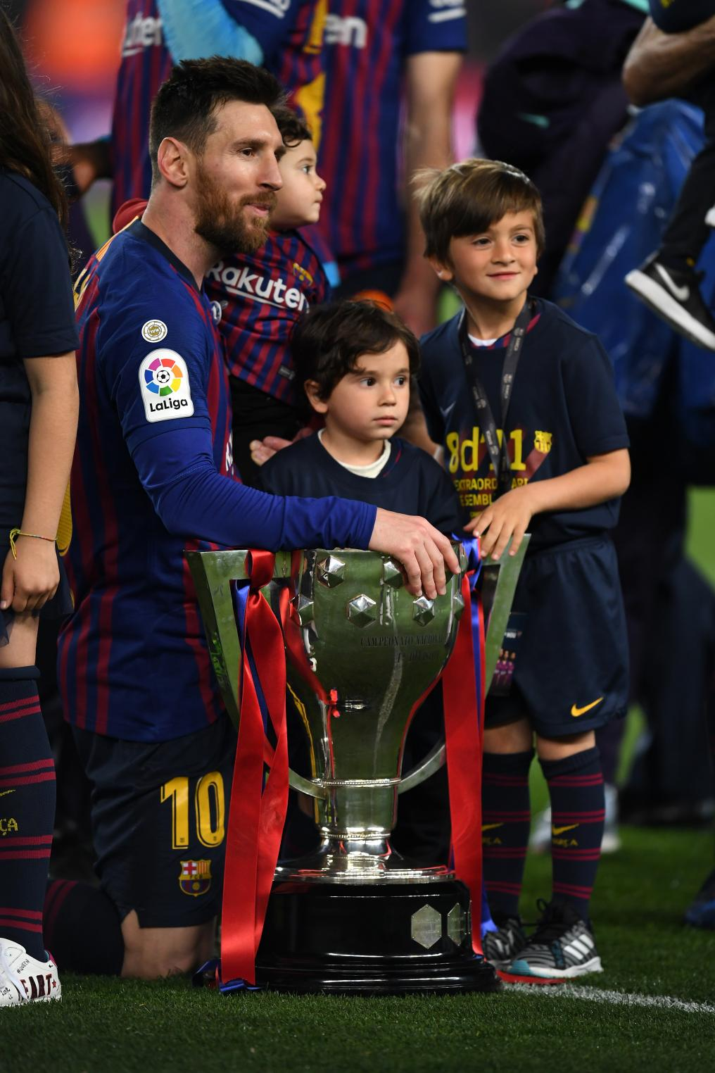 Messi And His Kids