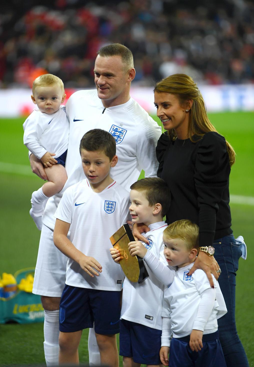 Wayne Rooney and Family