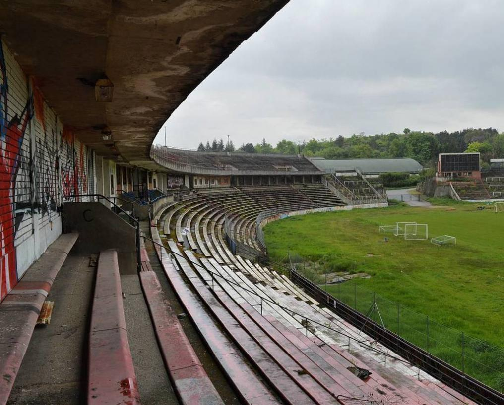Abandoned Soccer Stadiums