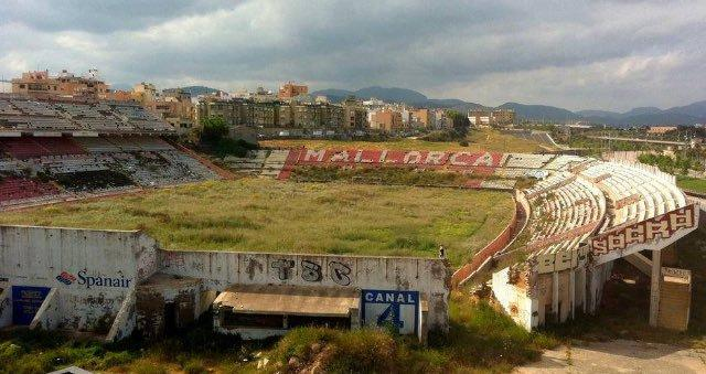 Abandoned soccer stadium, presented by Code Four Athletics