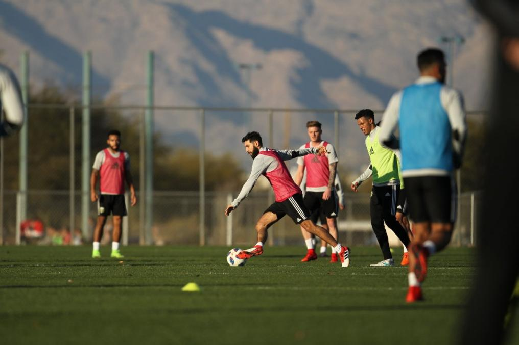 MLS Preseason Training
