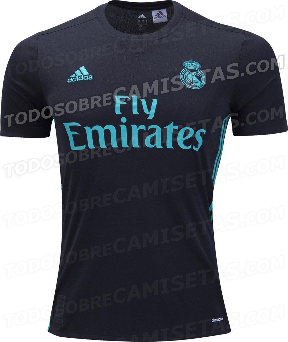 2017-18 Real Madrid Away Kit