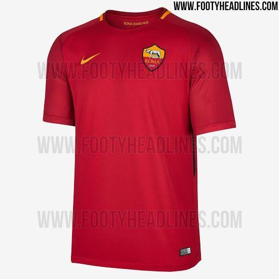 2017-18 Roma Home kit