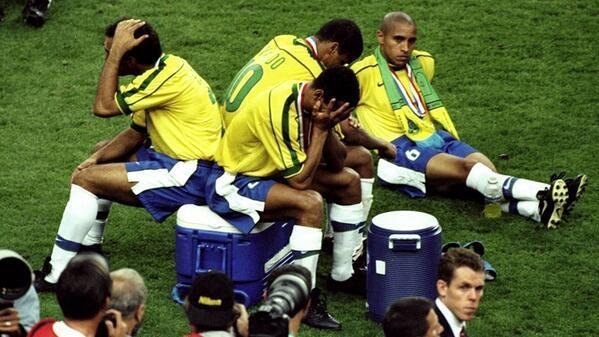Sad World Cup photos - Brazil 1998