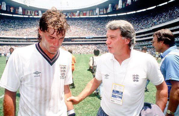 Sad World Cup photos - Glenn Hoddle