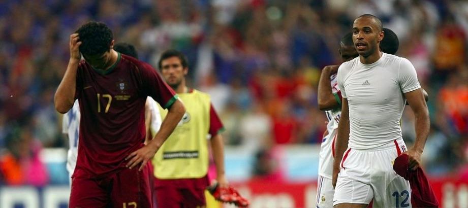 Sad World Cup photos - Cristiano Ronaldo