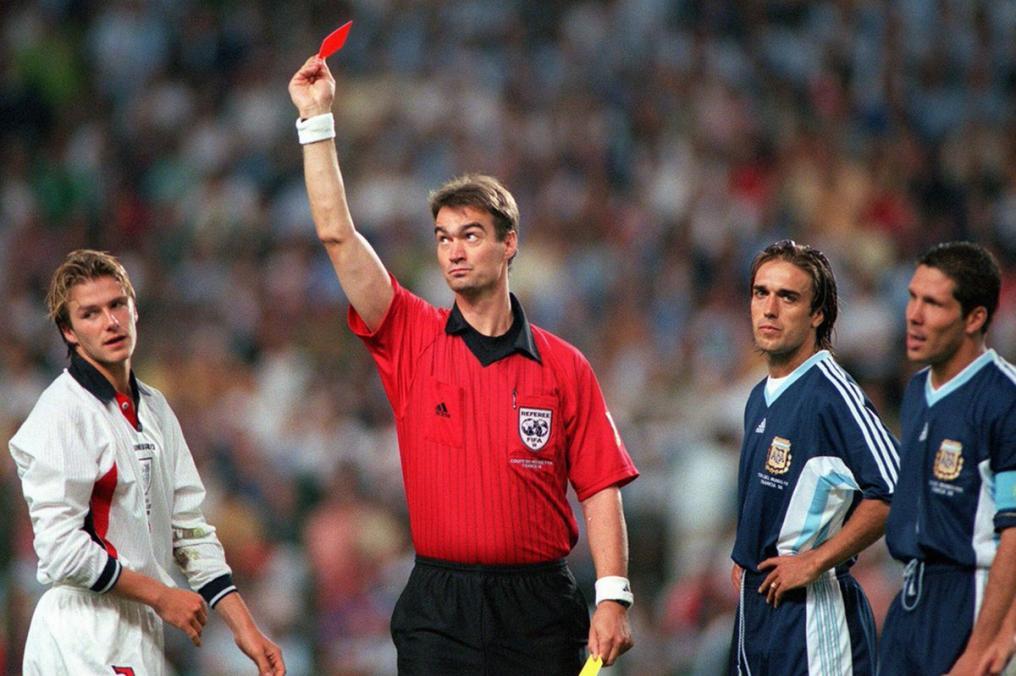 Sad World Cup photos - David Beckham