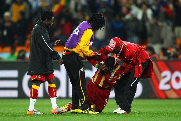 Sad World Cup photos - Ghana