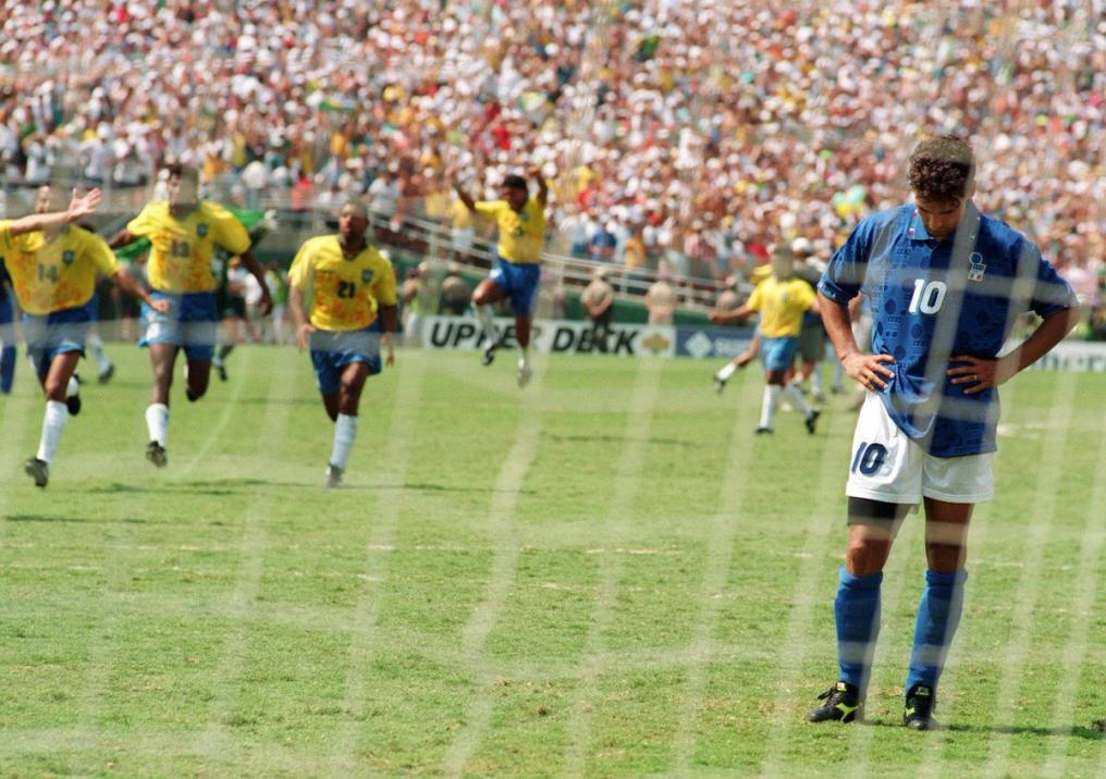 Sad World Cup photos - Roberto Baggio