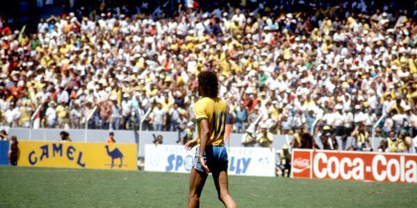 Sad World Cup photos - Socrates
