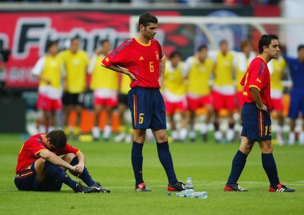 Sad World Cup photos - Spain