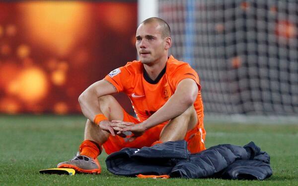 Sad World Cup photos - Wesley Sneijder