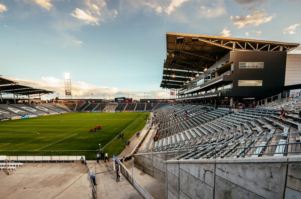 A Beautiful Stadium