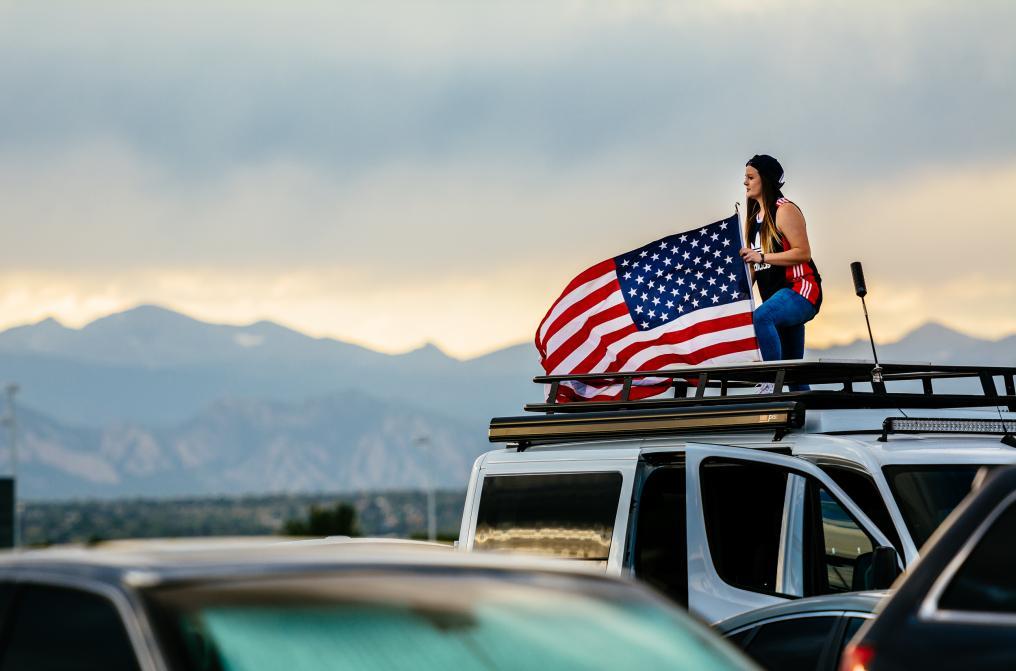Rooftop Patriotism