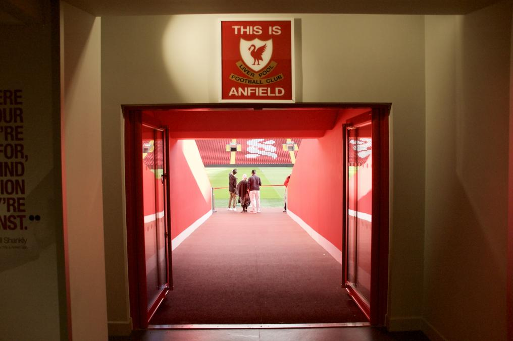 Entrance Onto The Pitch