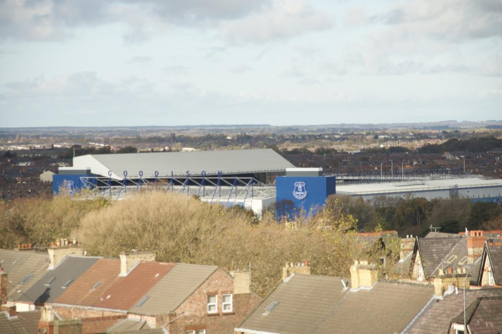 Merseyside Derby Rivals Less Than A Mile Away