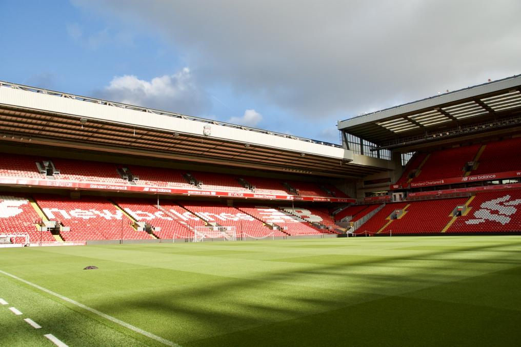 Pitch Side View: Visiting Supporters Seats