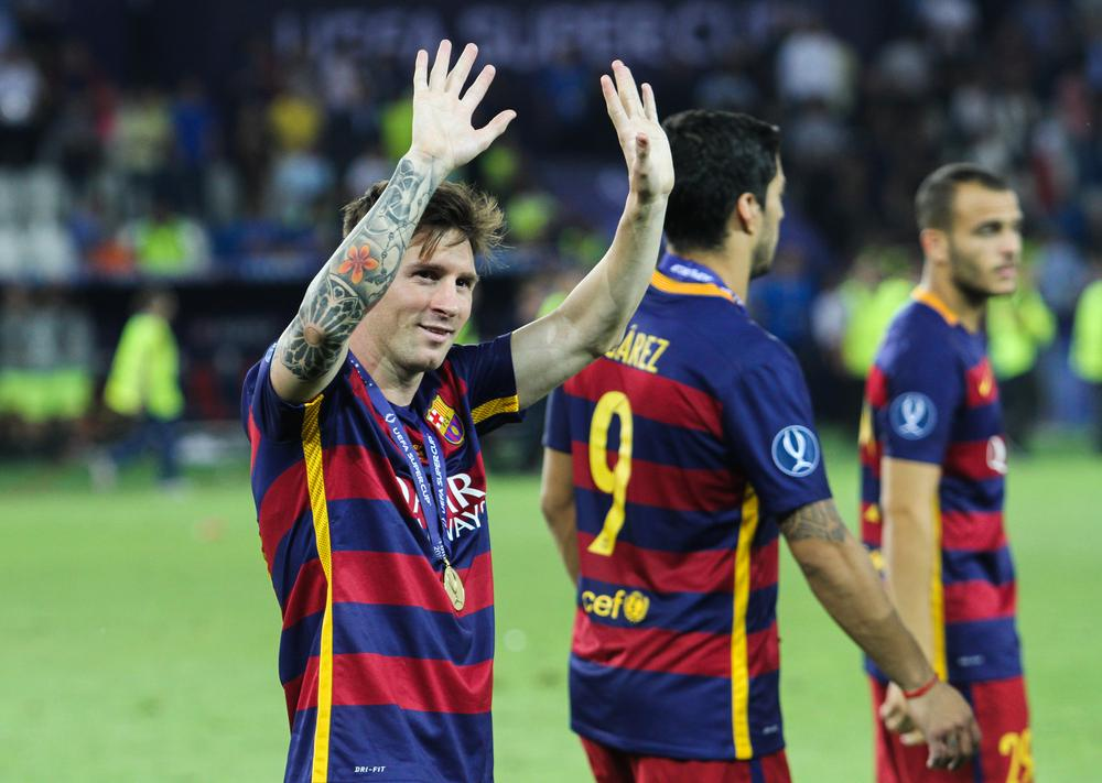 Lionel Messi tattoo