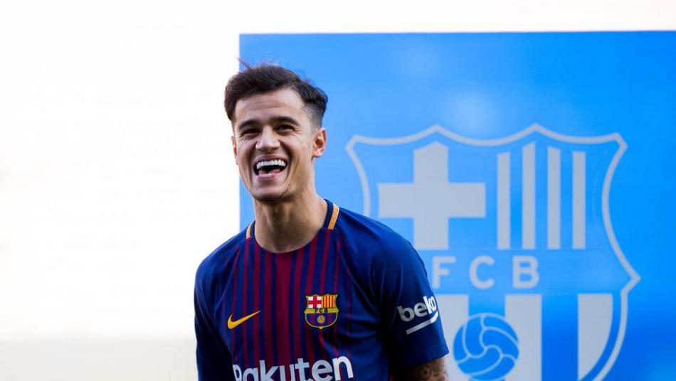 Philippe Coutinho At The Camp Nou