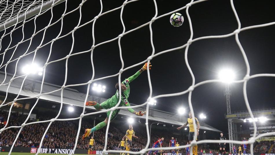 Yohan Cabaye Chip Against Arsenal