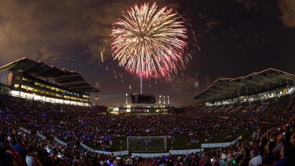 Colorado Rapids Stadium Dicks Sporting Goods Park Fireworks