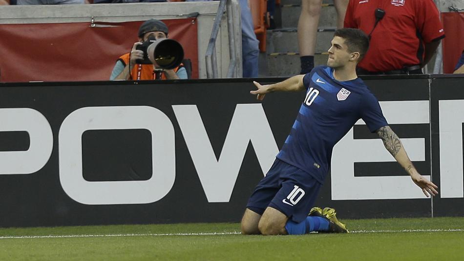 Christian Pulisic Goal Vs. Chile