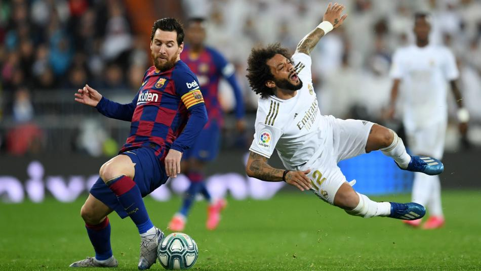 Lionel Messi and Marcelo