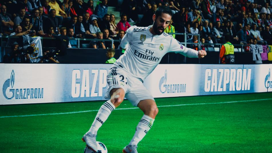 Isco at the UEFA Super Cup