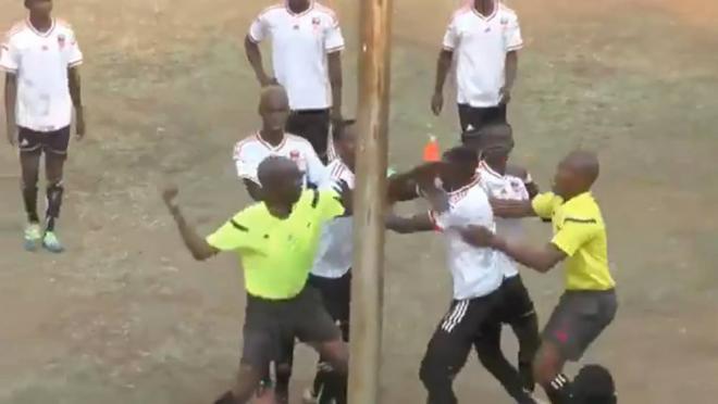 Zimbabwe red card